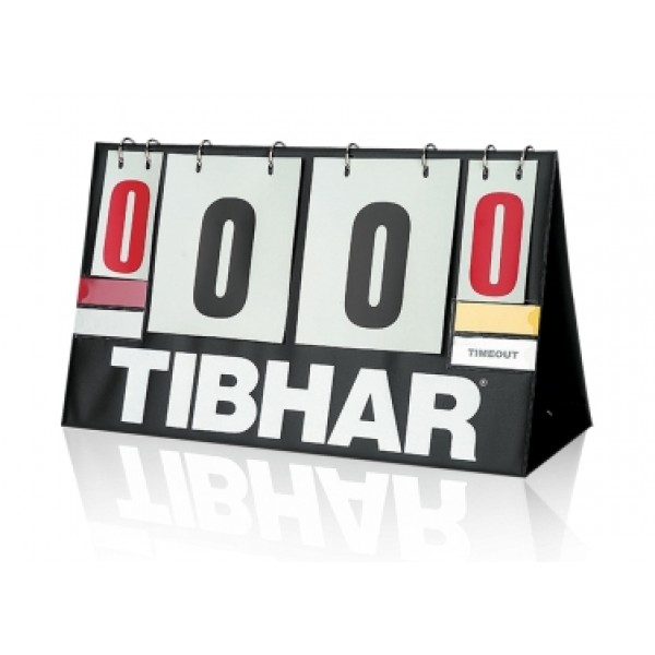 "Scorer Tibhar ""TIME OUT"""